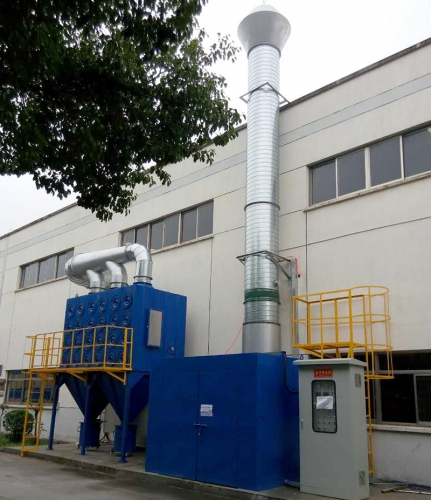 Dry explosion-proof dust collector